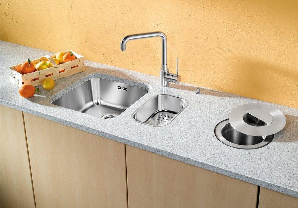 blanco küchenspüle »supra 400-u«, rechteckig   otto