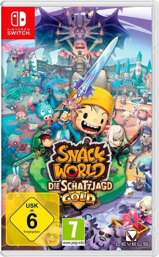 Snack World: Die Schatzjagd - Gold Nintendo Switch