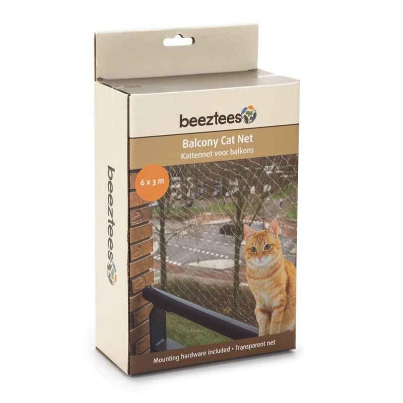 Beeztees Schutznetz »Beeztees Katzenschutznetz für Balkone Transparent 6 x 3 m 410483«