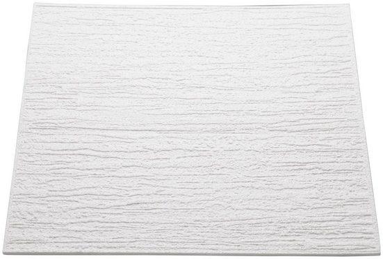 Decoflair Deckenplatten »Deckenplatte T80«, BxL: 50x50 cm, (Set, 16-tlg) in Putzoptik