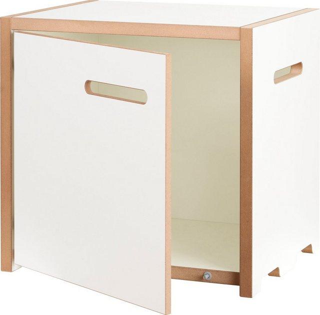 Küchenregale - Tojo Mehrzweckregal »halbstark Grundmodul mit Türe rechts«  - Onlineshop OTTO