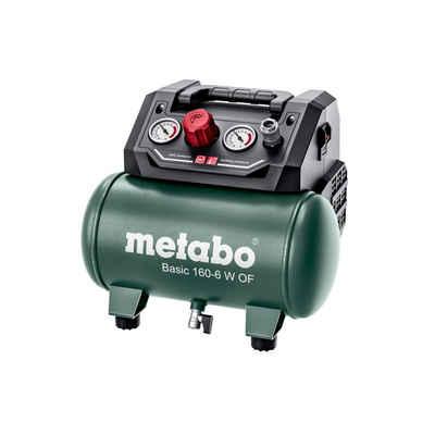metabo Kompressor »Druckluft Kompressor Basic 160-6 W OF«