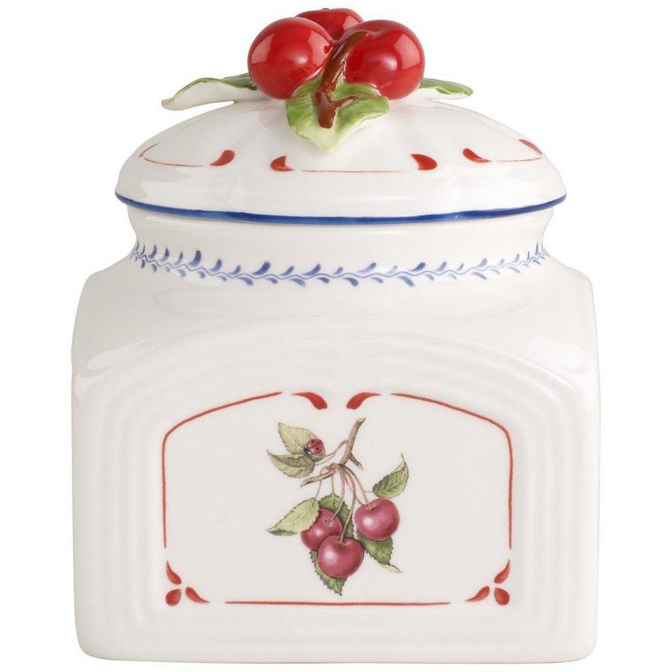 VILLEROY & BOCH Salz-/Gewürzdose klein 12cm »Cottage Charm« in dekoriert