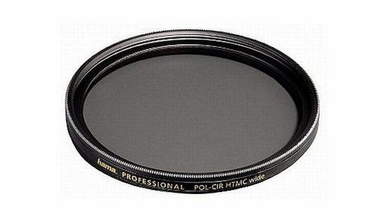 Hama »Polarisations-Filter circular Wide 55mm HTMC-vergü« Objektivzubehör
