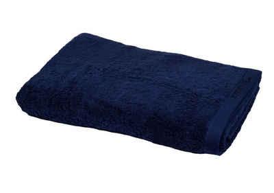 Aymando Saunatuch »Scheich Kollektion«, Strandtuch Handtuch luxuriöse Verarbeitung Scheich Collection Qualität aus 100% bester ägyptischer premium Baumwolle (GIZA 86) 90x180 cm 600 g/m², Dark Blue