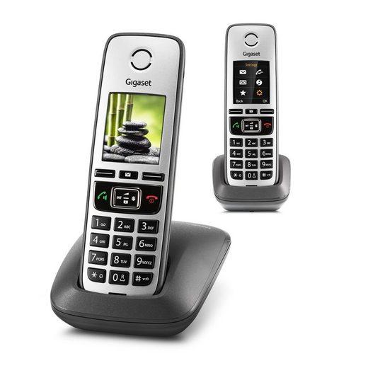 Gigaset »Gigaset FAMILY DUO Universal Mobilteil« Schnurloses DECT-Telefon