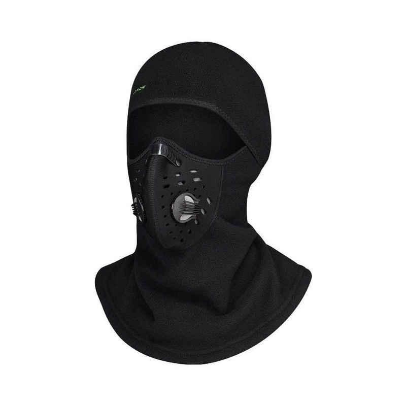 ROCKBROS Schutzhaube »Sturmhaube Winter Haube Balaclava mit Maske für Motorrad Ski Fahrrad, black«