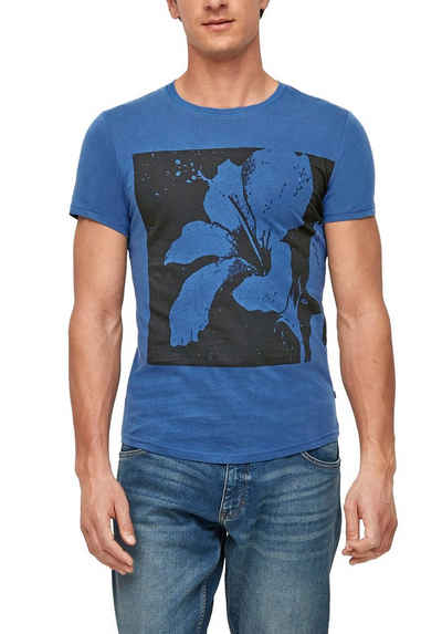 Q/S designed by T-Shirt mit Motivprint