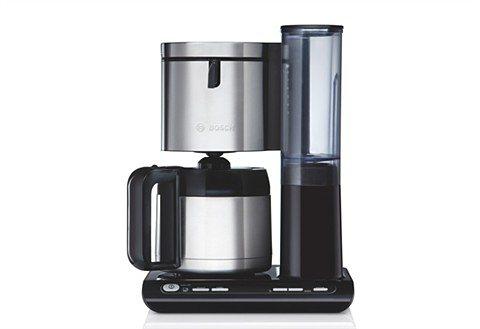 Bosch Kaffeemaschine »Styline TKA8651 / TKA8653«, mit Thermokanne in schwarz