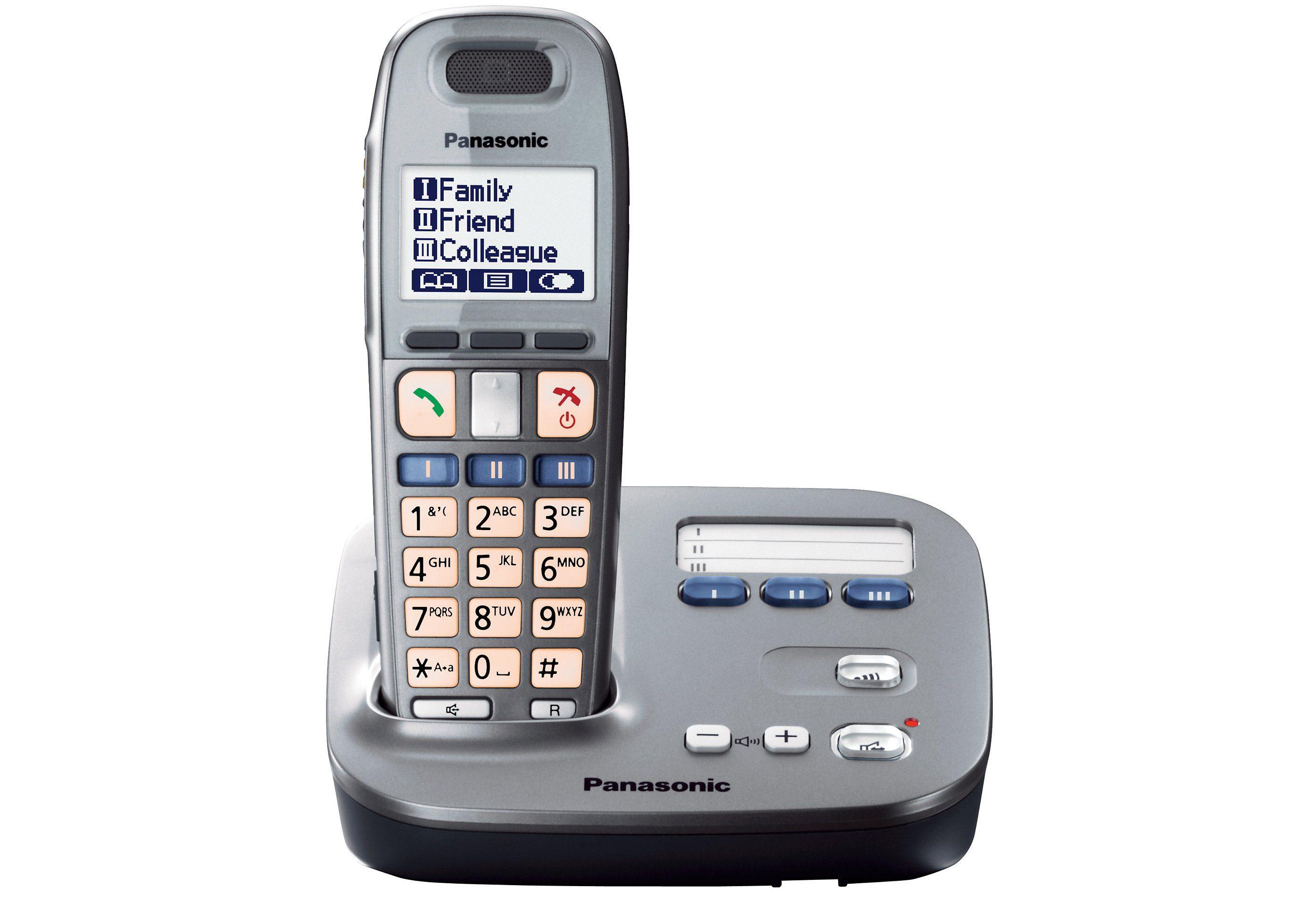 Panasonic KX-TG6571GM Schnurloses DETC Telefon