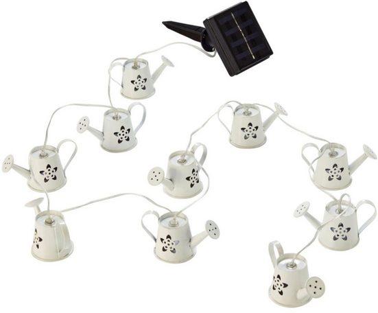 LED-Lichterkette »Gießkannen«, 10-flammig