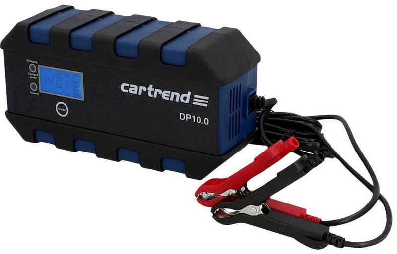 Cartrend »Microprozessor Ladegerät DP10.0« Autobatterie-Ladegerät (Packung, Ausgangsstrom 10)