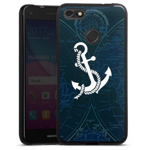 DeinDesign Handyhülle »Sailors Style« Huawei P9 lite mini, Hülle Anker Landkarte Segeln