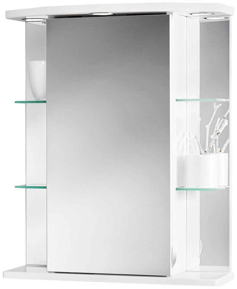 jokey Spiegelschrank »Havana LED« weiß, 50 cm Breite