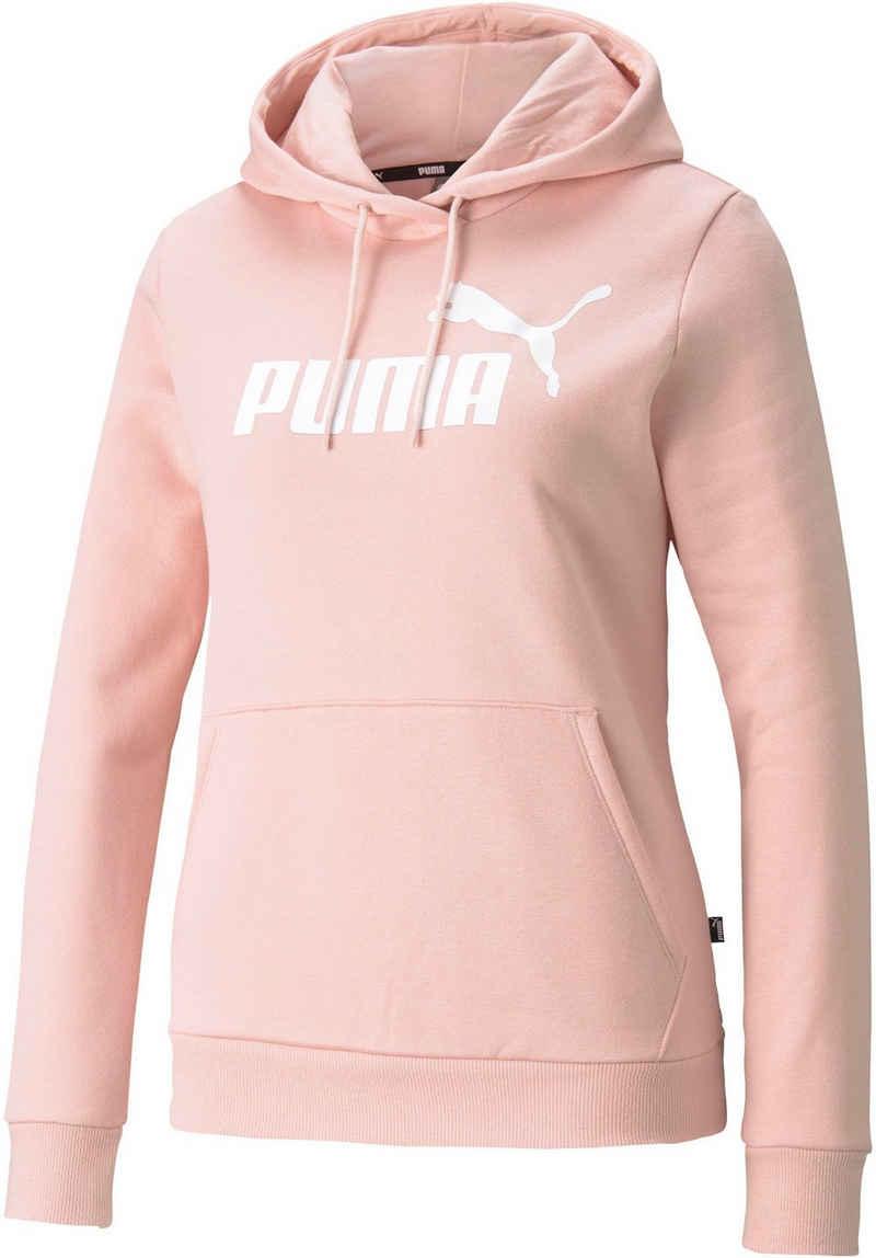 PUMA Kapuzensweatshirt »ESS Logo Hoodie FL (s) PLUS«
