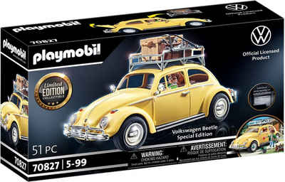 Playmobil® Konstruktions-Spielset »Volkswagen Käfer - Special Edition (70827)«, (51 St), Made in Germany
