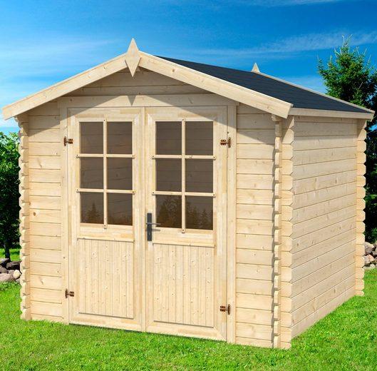 Outdoor Life Products Gartenhaus »Morava A«, BxT: 251x262 cm