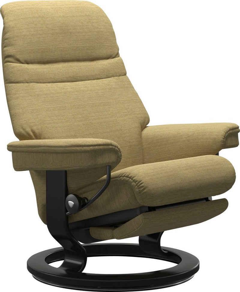 Stressless® Relaxsessel »Sunrise«, mit Classic Base und Power™, elektrisch verstellbar, optional 2-motorisch, Größe M & L, Gestell Schwarz