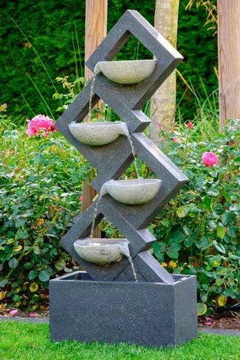 DOBAR Gartenbrunnen BxTxH: ca. 41,5x20,5x100,5 cm