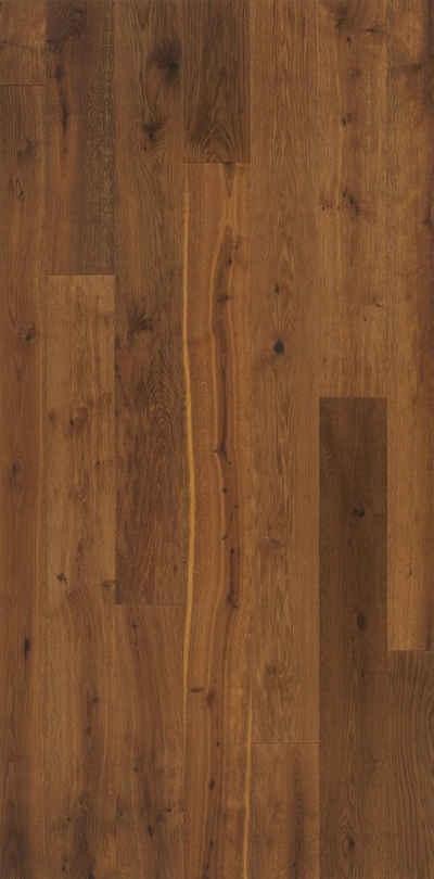PARADOR Parkett »Classic 3060 Living - Thermoeiche Medium«, Packung, Klicksystem, 2200 x 185 mm, Stärke: 13 mm, 3,66 m²