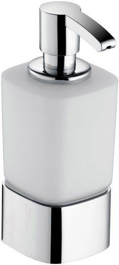 Keuco Seifenspender »Elegance«, für Schaumseife, Opalglas mattiert, 220 ml