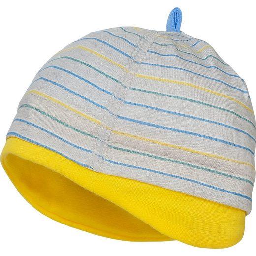 MAXIMO Baby Erstlingsmütze mit UV-Schutz für Jungen