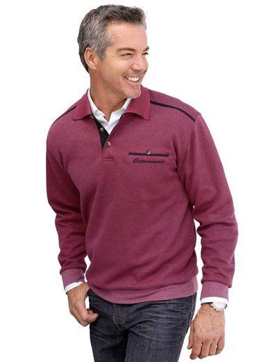 Marco Donati Sweatshirt mit Brusttasche