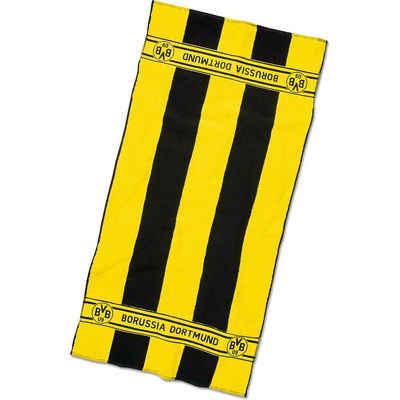 Borussia Dortmund Badetücher »BVB-Duschtuch mit Blockstreifen 70x140cm«