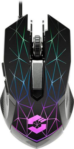 Speedlink »SL-680011-BK« Gaming-Maus (kabelgebunden)