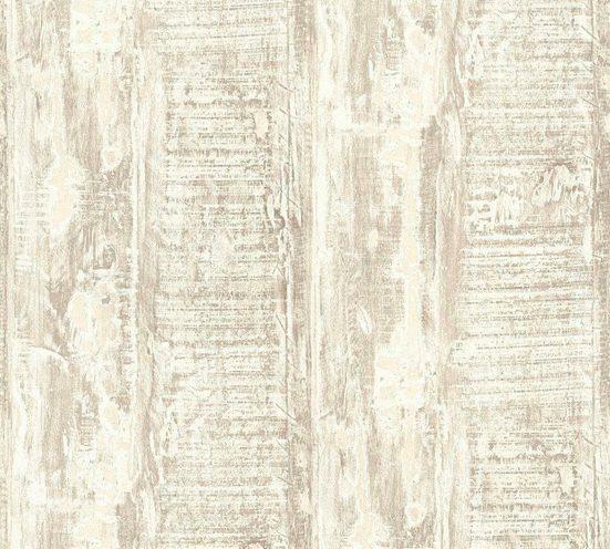 living walls Vliestapete »Best of Wood`n Stone 2nd Edition«, Holz, Holzplanken in Vintage-Optik