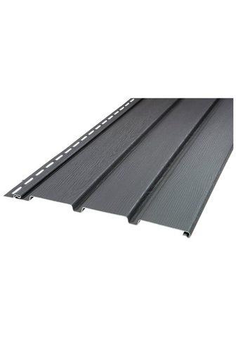 Baukulit VOX Verkleidungspaneel »SOFFIT graphit« Bx...