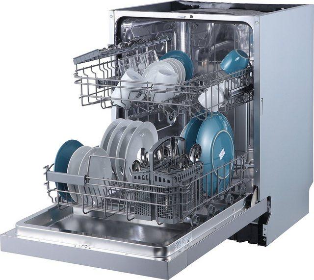 Küchengroßgeräte - Hanseatic Unterbaugeschirrspüler, HGU6082D137709HI, 14 Maßgedecke  - Onlineshop OTTO