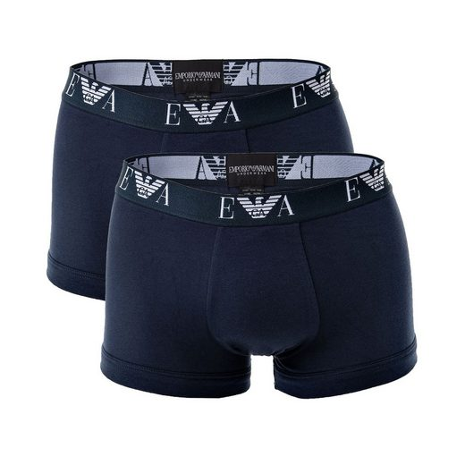 Emporio Armani Boxer »Herren Shorts 2er Pack - Trunks, Pants,«