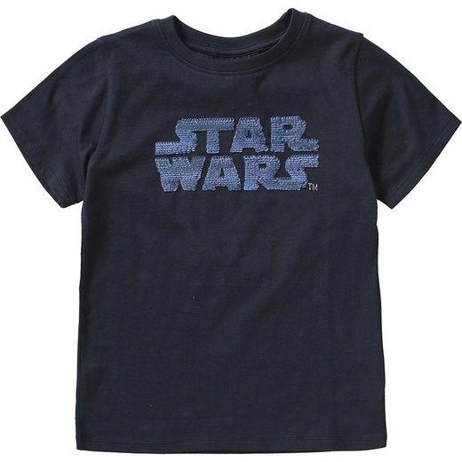 Star Wars T-Shirt »Star Wars Kinder T-Shirt mit Wendepailletten«