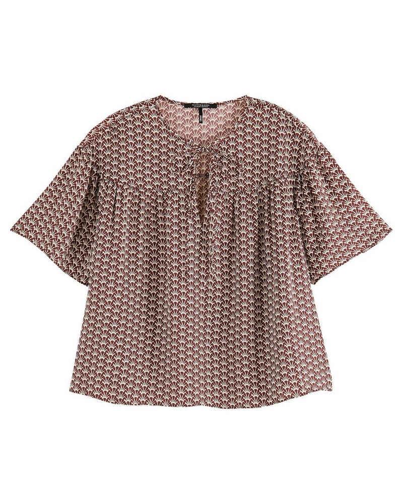 Scotch & Soda T-Shirt »Damen Shirt Kurzarm«