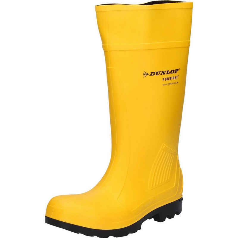 Dunlop »Dunlop Stiefel Purofort S5 gelb« Sicherheitsstiefel