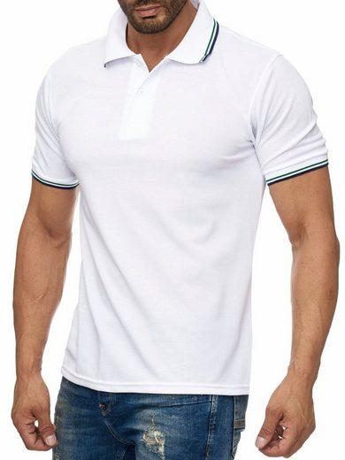 Max Men Poloshirt »1923« Uni Poloshirt mit Kragen Basic COLLEGE FEVER
