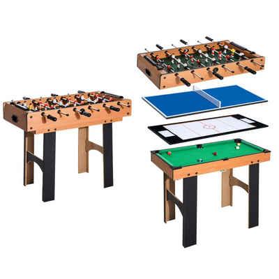 HOMCOM Spieltisch »4 in 1 Multi Spieltisch«