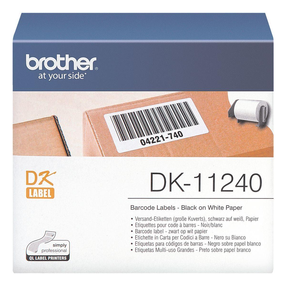 Brother Versand-Etiketten für Pakete »DK-11240«