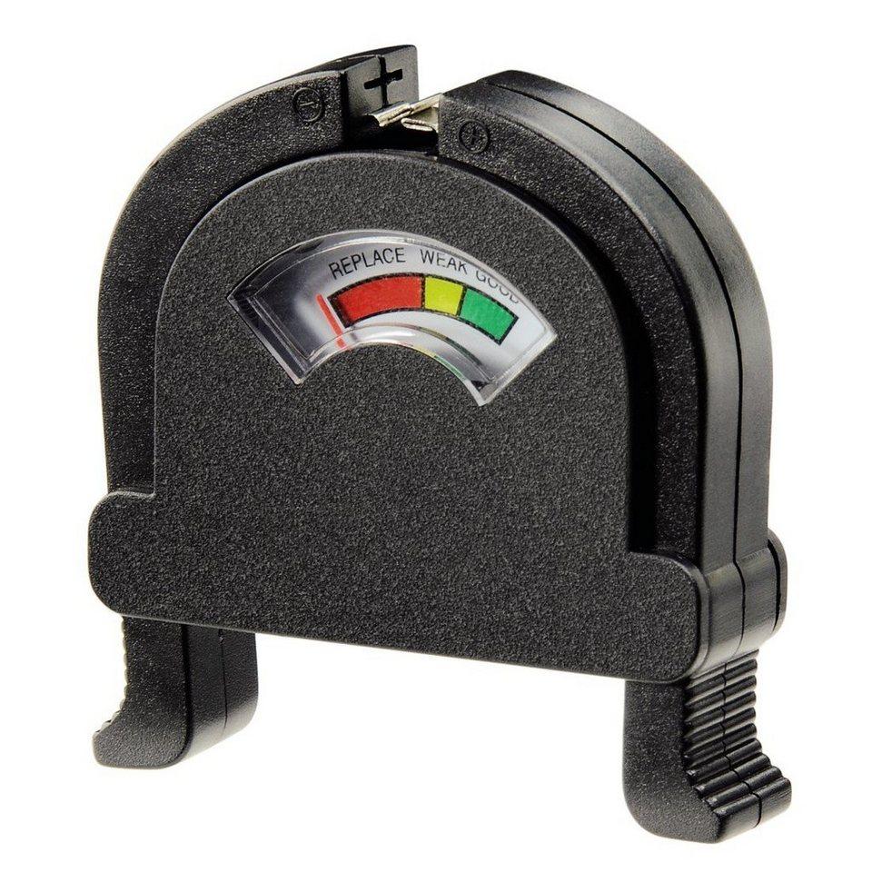 Hama Akku-/Batterie-Tester in Schwarz