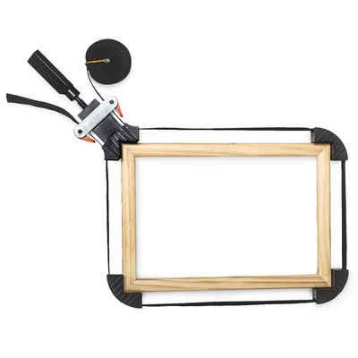 relaxdays Montageklemme »Rahmenspanner mit Spannbacken 4m«