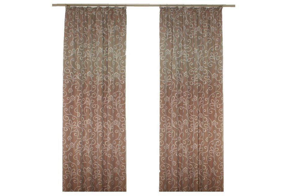 Vorhang, Wirth, »Daniela« in braun