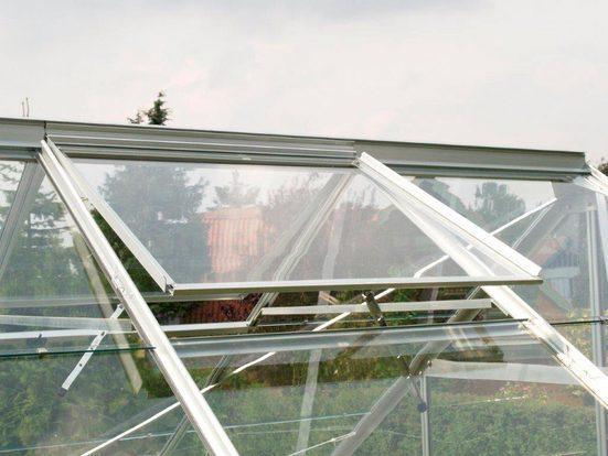 Vitavia Dachfenster, ohne Verglasung, blank-eloxiert