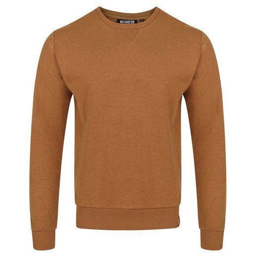 riverso Sweatshirt »RIVPhillip« mit Rundhalsausschnitt Basic Essential
