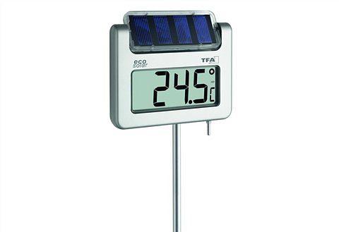 Digitales Solar-Gartenthermometer, TFA, »Avenue«