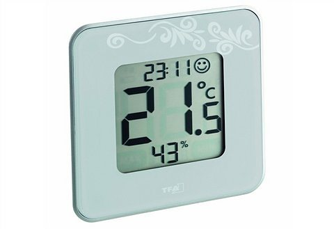 Digitales Thermo-Hygrometer, TFA, »STYLE«