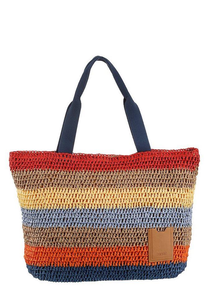 esprit -  Shopper »Dita Shopper«, in Handarbeit hergestellt
