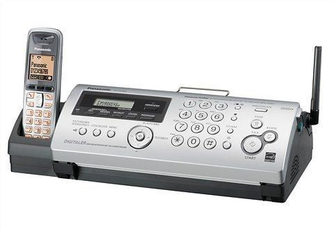 Fax-/Telefonkombination, Panasonic, »KX-FC265GS« in silberfarben