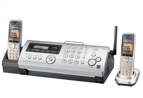 Panasonic KC-FC266 Faxgerät in silberfarben