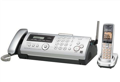 Fax- / Telefonkombination, Panasonic, »KX-FC275G-S« in silberfarben